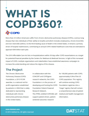 COPD Case Study